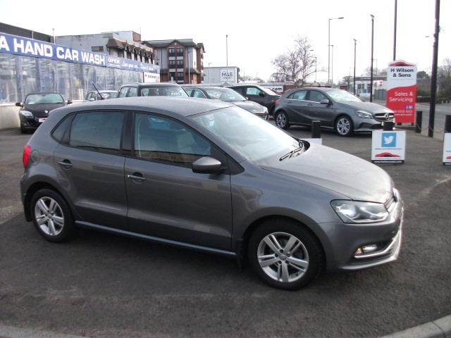 Volkswagen POLO MATCH EDITION 1.2TSI- LOW MILES & HIGH SPEC